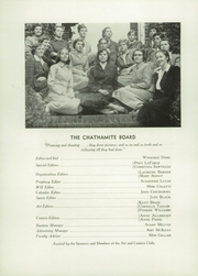 Page 12, 1951 Edition, Chatham Hall - Chathamite Yearbook (Chatham, VA) online yearbook collection