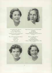 Page 15, 1951 Edition, Chatham Hall - Chathamite Yearbook (Chatham, VA) online yearbook collection