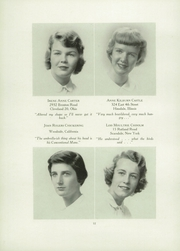 Page 16, 1951 Edition, Chatham Hall - Chathamite Yearbook (Chatham, VA) online yearbook collection