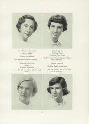 Page 17, 1951 Edition, Chatham Hall - Chathamite Yearbook (Chatham, VA) online yearbook collection