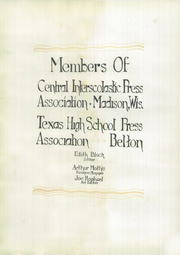 Page 10, 1928 Edition, Main Avenue High School - El Sombrero Yearbook (San Antonio, TX) online yearbook collection