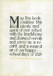 Page 12, 1928 Edition, Main Avenue High School - El Sombrero Yearbook (San Antonio, TX) online yearbook collection