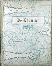 1954 Edition, De Leon High School - De Leonian Yearbook (De Leon, TX)