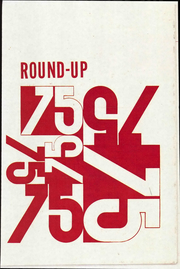 1975 Edition, Crockett Junior High School - Roundup Yearbook (Odessa, TX)