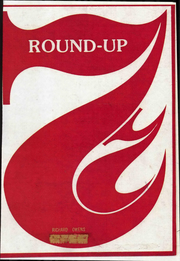 1977 Edition, Crockett Junior High School - Roundup Yearbook (Odessa, TX)