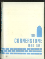 Page 1, 1981 Edition, First Baptist Academy - Cornerstone Yearbook (Dallas, TX) online yearbook collection