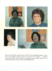 Page 8, 1981 Edition, First Baptist Academy - Cornerstone Yearbook (Dallas, TX) online yearbook collection