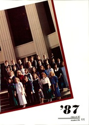 Page 15, 1987 Edition, First Baptist Academy - Cornerstone Yearbook (Dallas, TX) online yearbook collection
