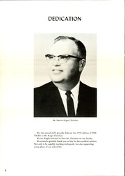 Page 6, 1970 Edition, Hartley School - Tiger Yearbook (Hartley, TX) online yearbook collection