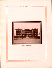 Page 11, 1920 Edition, Howard Payne College - Lasso Yearbook (Brownwood, TX) online yearbook collection