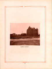 Page 14, 1920 Edition, Howard Payne College - Lasso Yearbook (Brownwood, TX) online yearbook collection