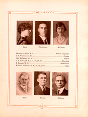 Page 16, 1920 Edition, Howard Payne College - Lasso Yearbook (Brownwood, TX) online yearbook collection
