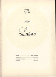 Page 7, 1959 Edition, Howard Payne College - Lasso Yearbook (Brownwood, TX) online yearbook collection