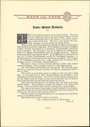 Page 124, 1929 Edition, St Christophers School - Raps and Taps Yearbook (Richmond, VA) online yearbook collection