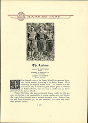 Page 125, 1929 Edition, St Christophers School - Raps and Taps Yearbook (Richmond, VA) online yearbook collection