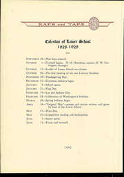 Page 130, 1929 Edition, St Christophers School - Raps and Taps Yearbook (Richmond, VA) online yearbook collection