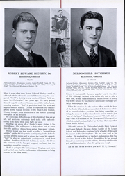 Page 17, 1936 Edition, St Christophers School - Raps and Taps Yearbook (Richmond, VA) online yearbook collection