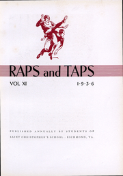 Page 5, 1936 Edition, St Christophers School - Raps and Taps Yearbook (Richmond, VA) online yearbook collection