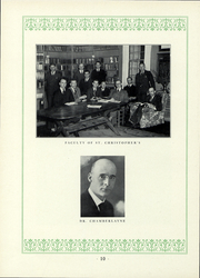 Page 11, 1937 Edition, St Christophers School - Raps and Taps Yearbook (Richmond, VA) online yearbook collection