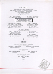 Page 13, 1938 Edition, St Christophers School - Raps and Taps Yearbook (Richmond, VA) online yearbook collection