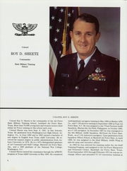 Page 10, 1986 Edition, US Air Force Training - Yearbook (Lackland, TX) online yearbook collection