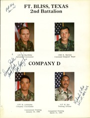 Page 5, 1985 Edition, US Army Air Defense Training - Yearbook (Fort Bliss, TX) online yearbook collection
