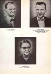 Page 17, 1957 Edition, Wayland Baptist University - Traveler Yearbook (Plainview, TX) online yearbook collection