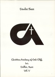 Page 5, 1977 Edition, Christian Academy of Oak Cliff - Doulos Theos Yearbook (Dallas, TX) online yearbook collection