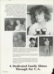 Page 6, 1984 Edition, Christian Academy of Oak Cliff - Doulos Theos Yearbook (Dallas, TX) online yearbook collection