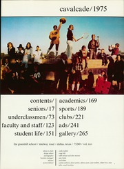 Page 5, 1975 Edition, Greenhill School - Cavalcade Yearbook (Addison, TX) online yearbook collection