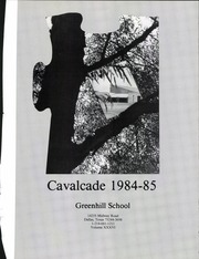 Page 5, 1985 Edition, Greenhill School - Cavalcade Yearbook (Addison, TX) online yearbook collection