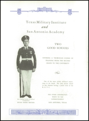 Page 11, 1938 Edition, Texas Military Institute - Blue Bonnet Yearbook (San Antonio, TX) online yearbook collection