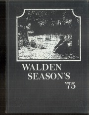 1975 Edition, Walden Preparatory School - Yearbook (Dallas, TX)