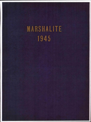Page 1, 1945 Edition, Marshall High School - Marshallite Yearbook (Marshall, VA) online yearbook collection