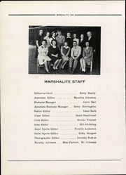 Page 10, 1945 Edition, Marshall High School - Marshallite Yearbook (Marshall, VA) online yearbook collection