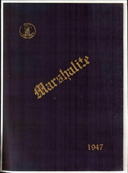 Page 1, 1947 Edition, Marshall High School - Marshallite Yearbook (Marshall, VA) online yearbook collection