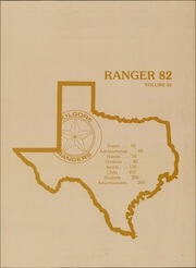 Page 7, 1982 Edition, Kilgore College - Ranger Yearbook (Kilgore, TX) online yearbook collection