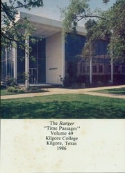 Page 5, 1986 Edition, Kilgore College - Ranger Yearbook (Kilgore, TX) online yearbook collection