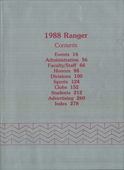 Page 3, 1988 Edition, Kilgore College - Ranger Yearbook (Kilgore, TX) online yearbook collection
