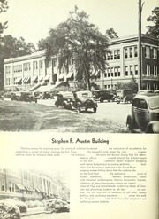 Page 10, 1938 Edition, Stephen F Austin State University - Stone Fort Yearbook (Nacogdoches, TX) online yearbook collection
