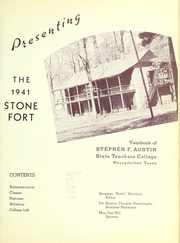 Page 5, 1941 Edition, Stephen F Austin State University - Stone Fort Yearbook (Nacogdoches, TX) online yearbook collection