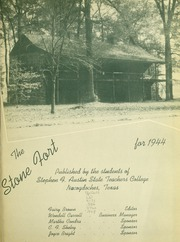 Page 5, 1944 Edition, Stephen F Austin State University - Stone Fort Yearbook (Nacogdoches, TX) online yearbook collection