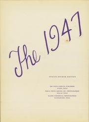 Page 6, 1947 Edition, Stephen F Austin State University - Stone Fort Yearbook (Nacogdoches, TX) online yearbook collection