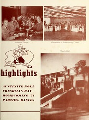 Page 13, 1952 Edition, Stephen F Austin State University - Stone Fort Yearbook (Nacogdoches, TX) online yearbook collection