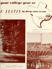 Page 7, 1952 Edition, Stephen F Austin State University - Stone Fort Yearbook (Nacogdoches, TX) online yearbook collection