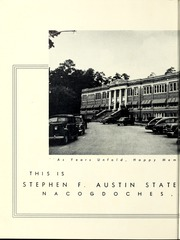 Page 6, 1953 Edition, Stephen F Austin State University - Stone Fort Yearbook (Nacogdoches, TX) online yearbook collection