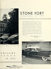 Page 7, 1953 Edition, Stephen F Austin State University - Stone Fort Yearbook (Nacogdoches, TX) online yearbook collection