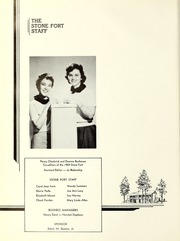 Page 6, 1959 Edition, Stephen F Austin State University - Stone Fort Yearbook (Nacogdoches, TX) online yearbook collection