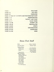 Page 14, 1965 Edition, Stephen F Austin State University - Stone Fort Yearbook (Nacogdoches, TX) online yearbook collection