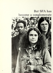Page 12, 1973 Edition, Stephen F Austin State University - Stone Fort Yearbook (Nacogdoches, TX) online yearbook collection